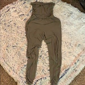 Other - Olive green one piece-sz M (EUC)